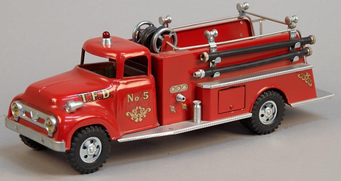 """Vintage Tonka """"Fire Dept. Hose & Ladder Pumper Truck"""""""