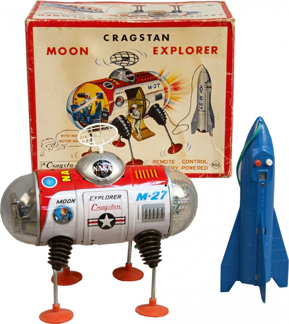 """M-27 Moon Explorer"""