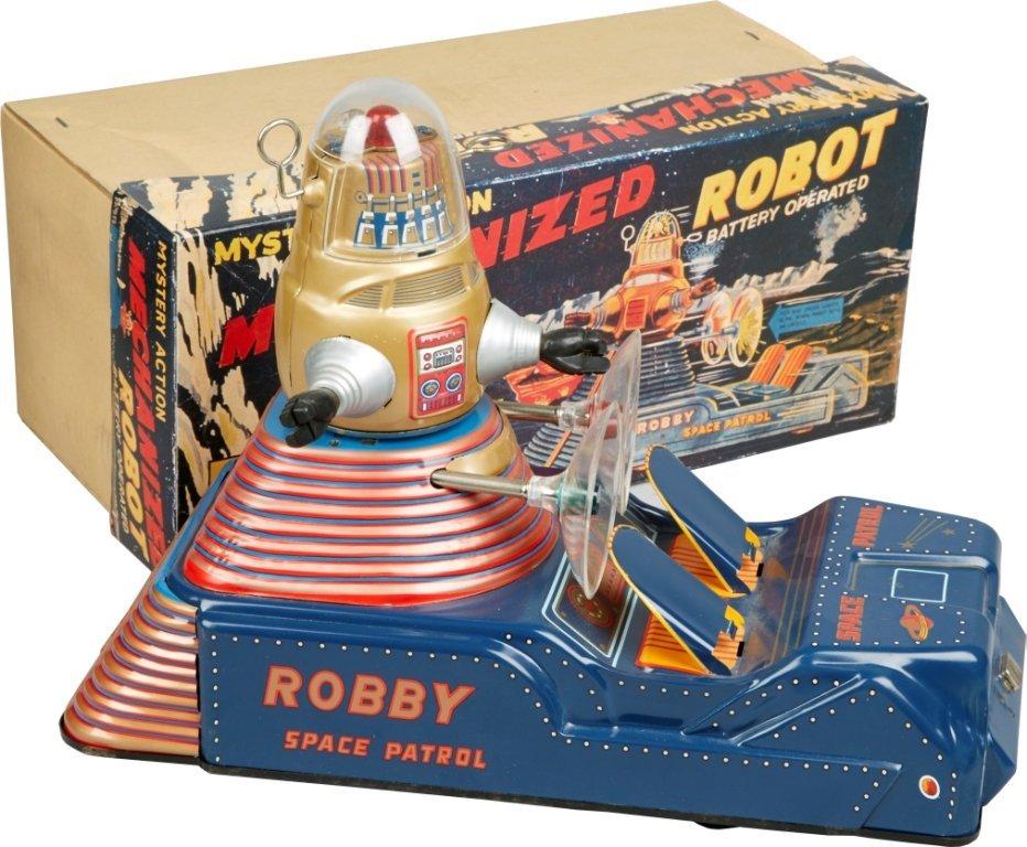 """Robby Space Patrol"""