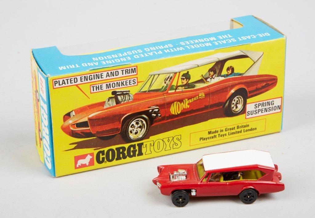 "Lot Of 2 - Vintage Corgi ""Monkeemobile"" Toy Cars: - 2"