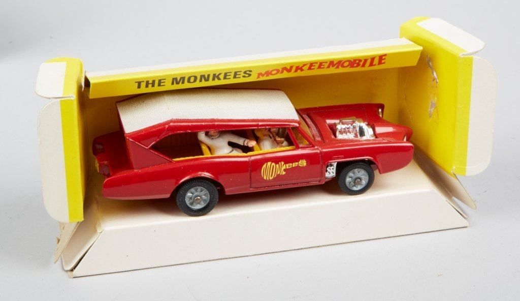 "Lot Of 2 - Vintage Corgi ""Monkeemobile"" Toy Cars: - 3"