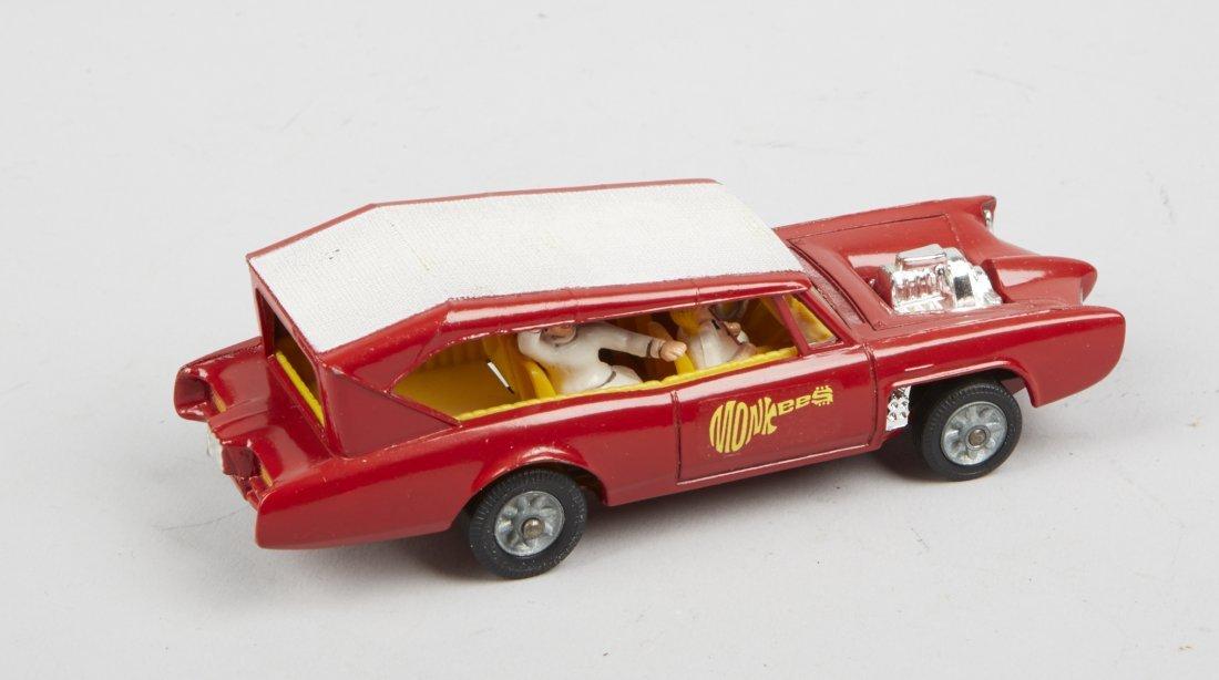 "Lot Of 2 - Vintage Corgi ""Monkeemobile"" Toy Cars: - 4"