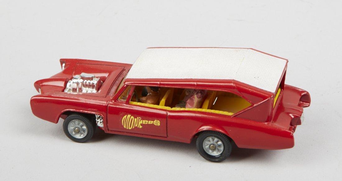 "Lot Of 2 - Vintage Corgi ""Monkeemobile"" Toy Cars: - 5"