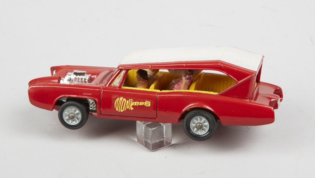 "Lot Of 2 - Vintage Corgi ""Monkeemobile"" Toy Cars: - 6"