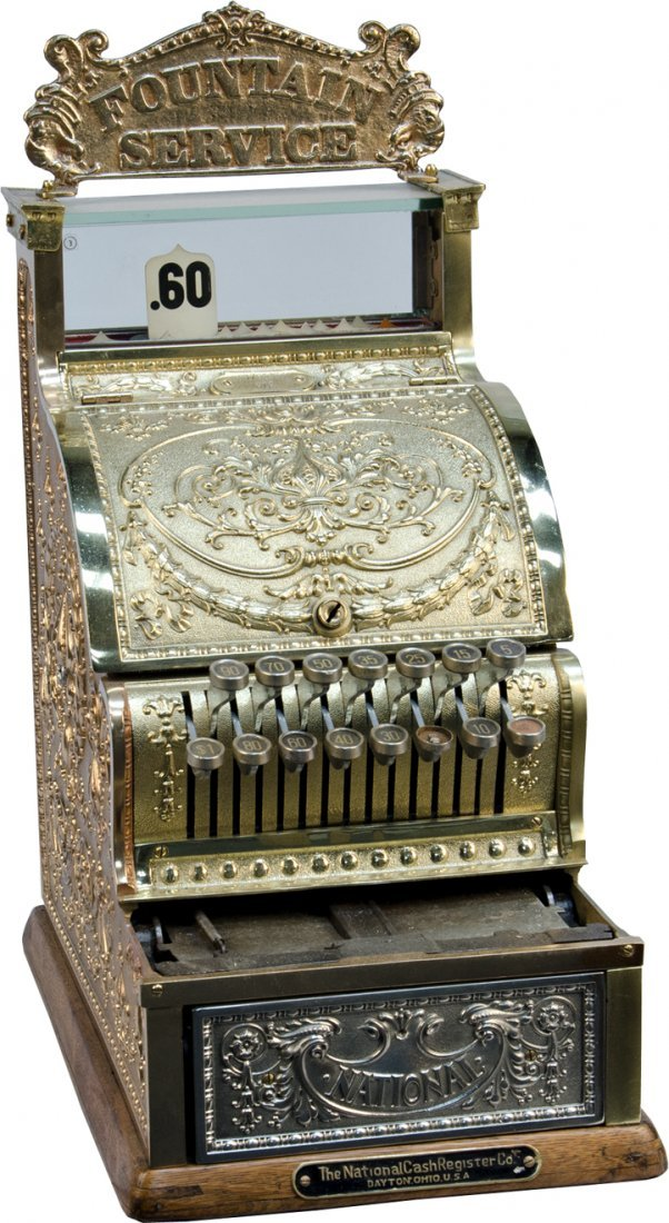 National Cash Register Candy Store Model No. 313 w/