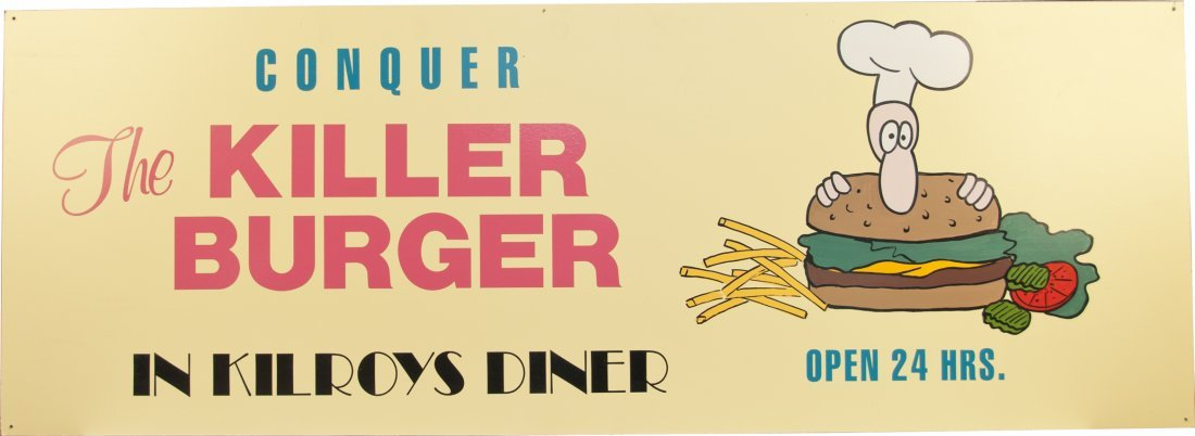 """""""Conquer The Killer Burger in Kilroy's Diner"""" Nevada Cl"""
