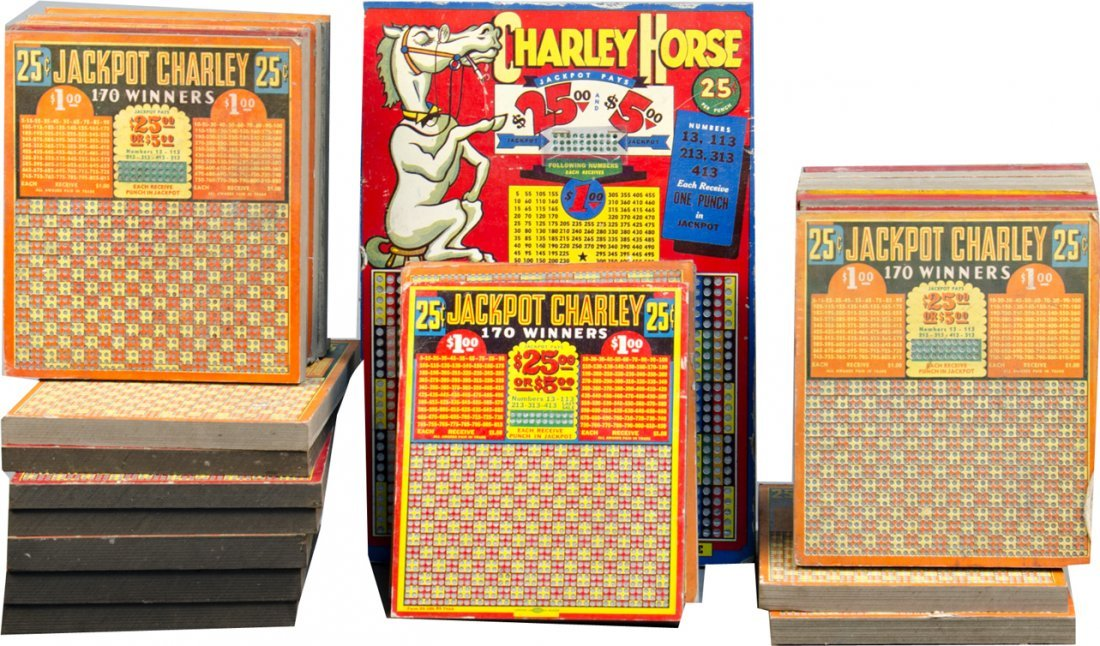 Lot Of 27 Misc. Gambling Punch Boards