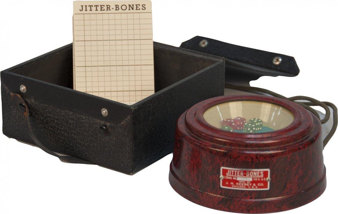 "J.H. Keeney & Co. ""Jitter-Bones"" Electric Counter Dice"