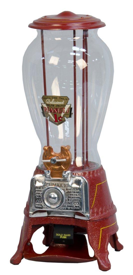 "1 Cent Advance Machine Co. Countertop Tall Globe ""clima"