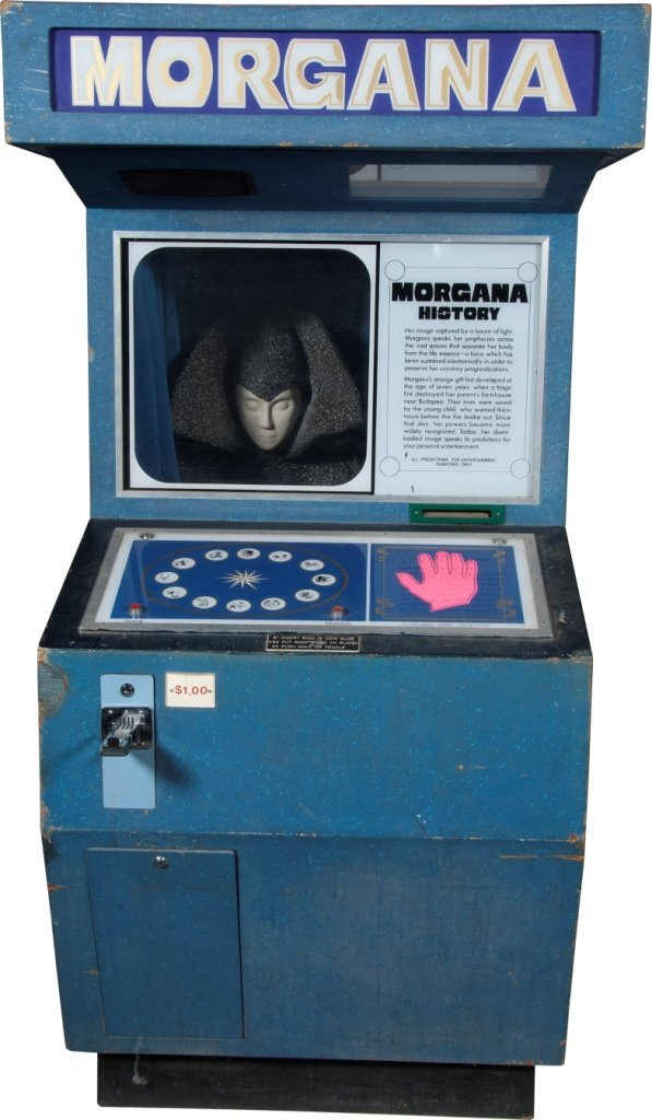 "$1 Bacchus Games ""Morgana"" Fortune Teller Arcade"