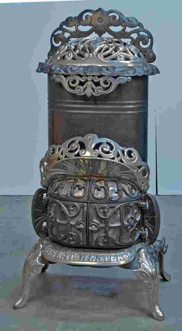 Early Ornate Great Western No 905b Gas Stove