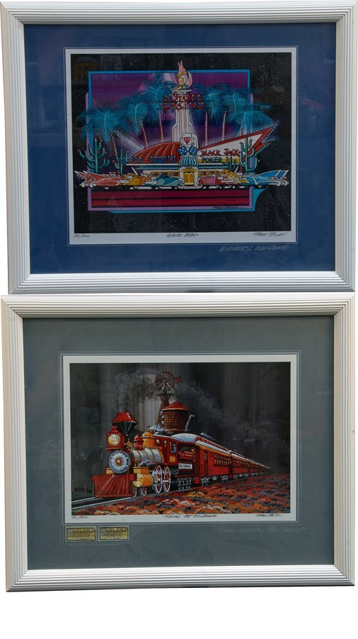 Lot of 2 Fred Bonn Limited Edition Lithographs in Frame