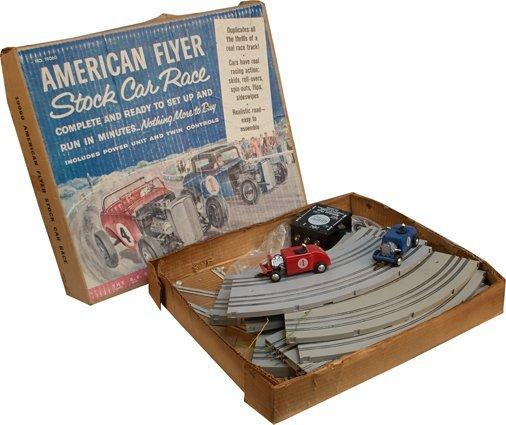 Vintage A.C. Gilbert American Flyer Stock Car Race No.