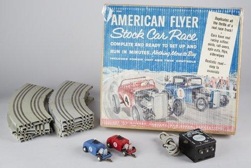 Vintage A.C. Gilbert American Flyer Stock Car Race No. - 2