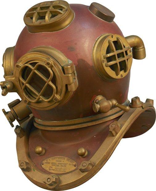 Full Size U.S. Navy Mark V Diving Helmet