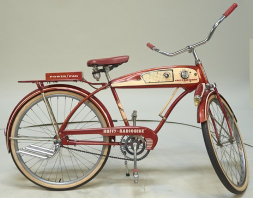 "Vintage Huffy ""Radio Bike"" Original Boy's Bicycle"