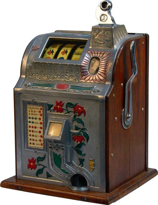 Mills 5 cent poinsettia slot machine turbo satellite poker
