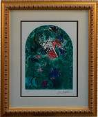 Marc Chagall Stain Glass Windows Giclee Print