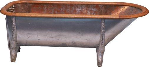 Footed cowboy bathtub antique footed cowboy bathtub geotapseo Gallery