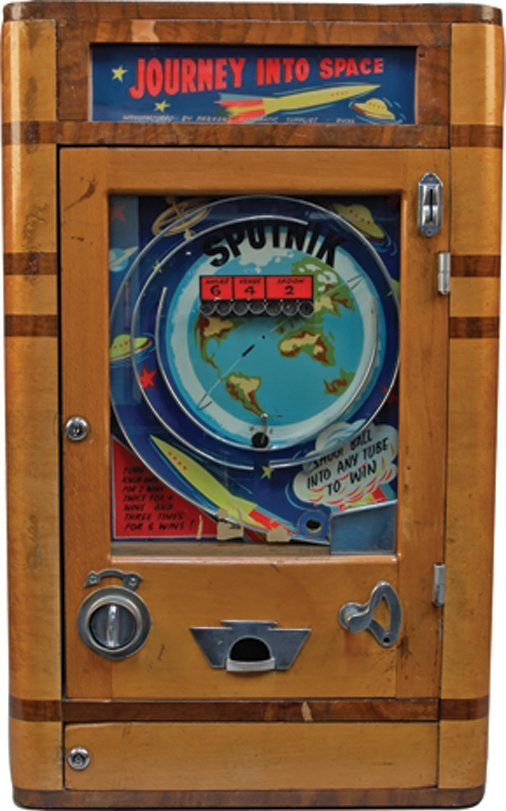 """Coin-Op """"Sputnik"""" Space-Themed British Countertop Skill"""