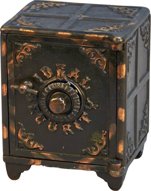 Ideal Security Small Cast-Iron Combination Lock Safe