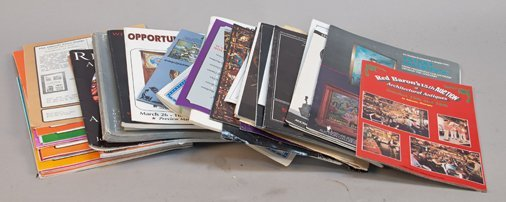 Large Lot Of Assorted Old Auction Catalogs & Other Coin