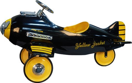 "Yellow Jacket ""Special Edition"" Pursuit Pedal Car Plane"