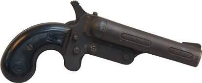 Early FMJ Double-Barrel Gambler's Pistol Handgun