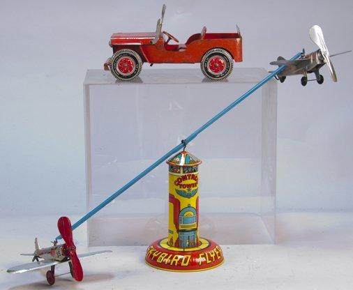 Lot Of 2 - Vintage Marx, USA., Litho. Tin Toys: