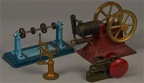 Lot of 4 - Vintage Misc. Engine's, Machine Shop Models: