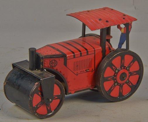 Vintage Marx, USA., Litho. Tin Automatic Reversing Road