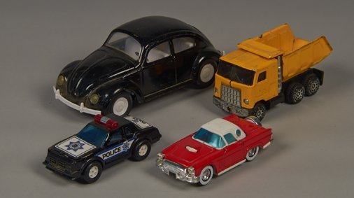 Lot of 4 - Misc. Toy Vehicles: