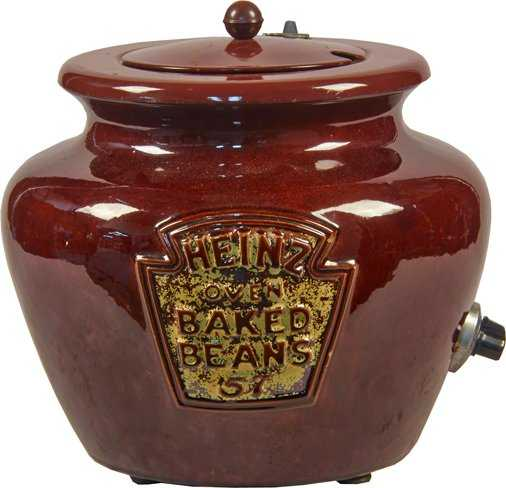 Heinz Oven Baked Beans Ceramic Electric Bean Pot