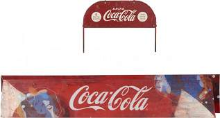 Lot of 3 Coca Cola Signs: