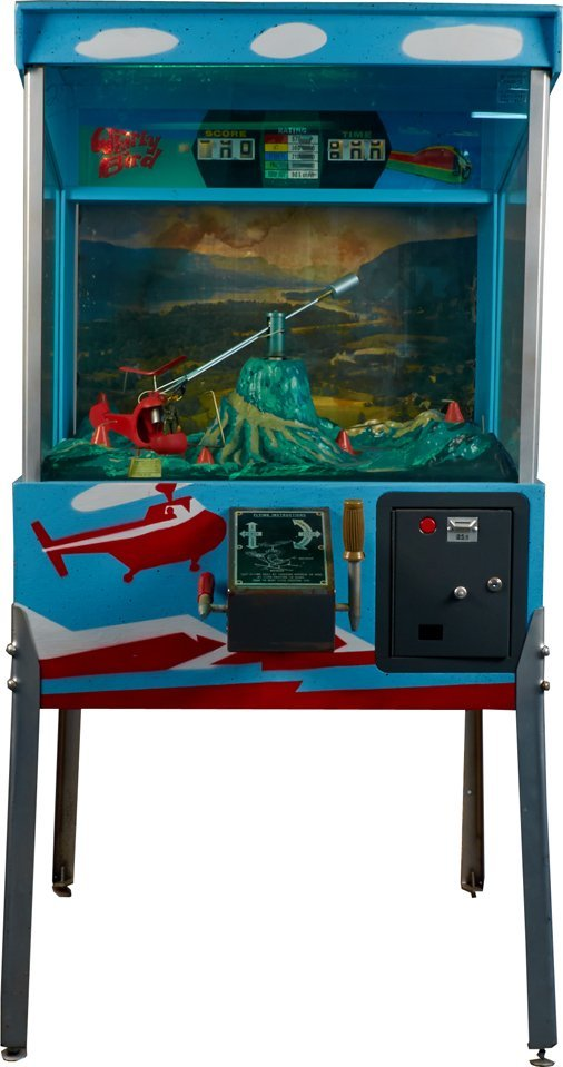 25 Cent Whirly Bird Floor Helicopter Arcade Machine