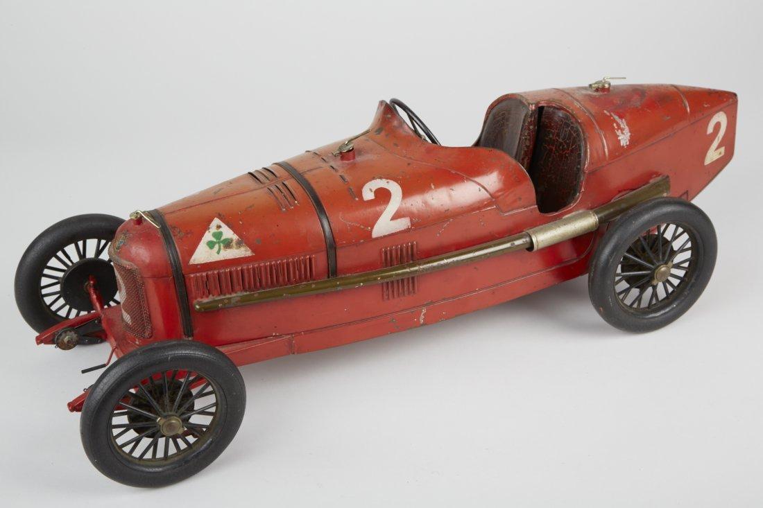 Alfa Romeo No. 2 Grand Prix Pressed-Steel Toy