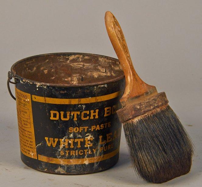 Lot of 2 - Dutch Boy Advertisment Items: