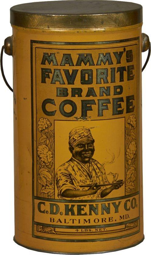 """Mammy's Favorite Brand Coffee"" Countertop Coffee Tin"