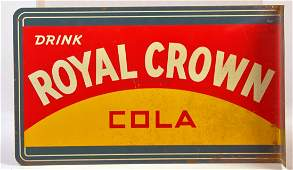 """""""Drink Royal Crown Cola"""" Double Sided Flange"""