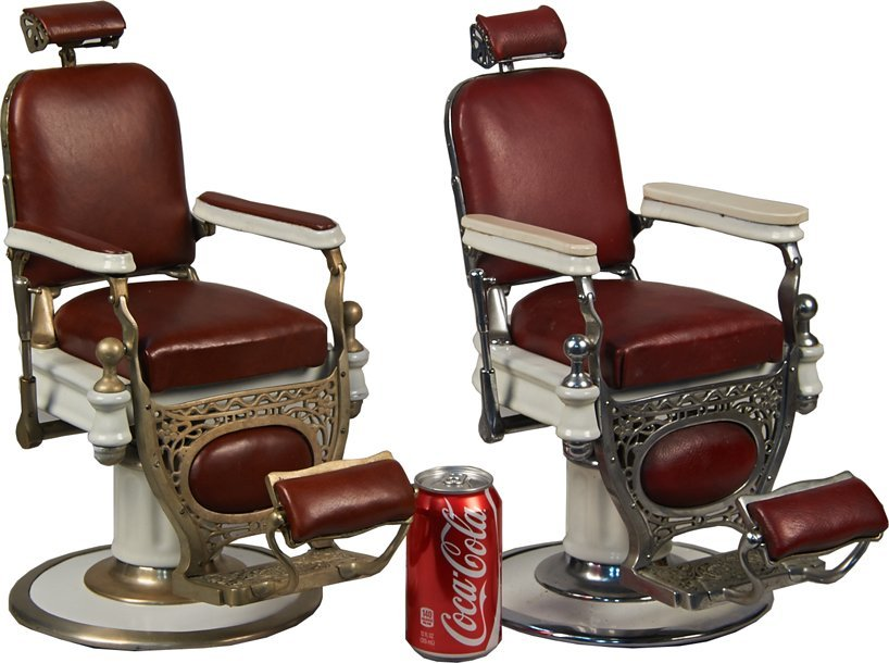 Salesmans Sample Barber Chair