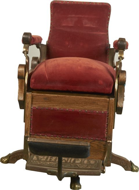 Early Kochs Columbia Barber Chair