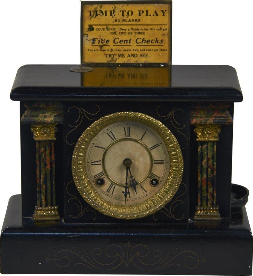 5 Cent Wm. M. White Co. Wizard Clock Trade Stimulator
