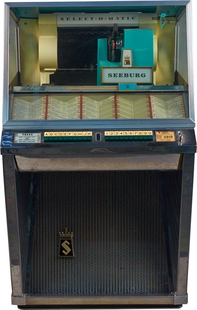 Coin-Op Seeburg Select-O-Matic 100 Model 101 Jukebox