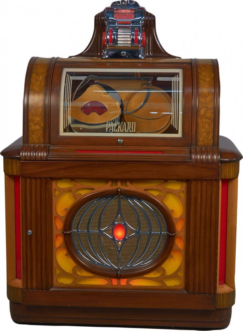 Coin-Op Packard Manhattan Model 76 Phonograph