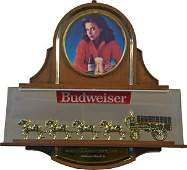 Budweiser Beer World Champion Clydesdale Light-Up Sign