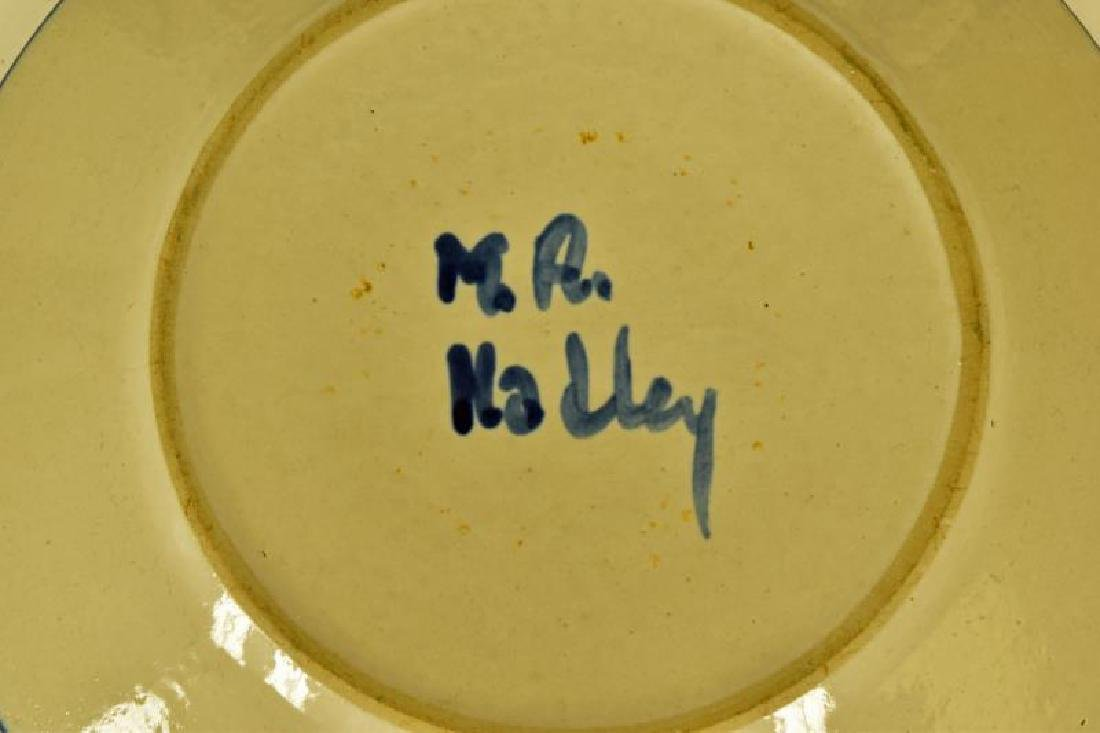 Collection Of M A Hadley Chicken Painted Pottery - 3