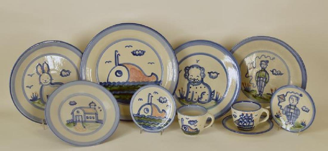 Collection Of Various Pattern M A Hadley Pottery
