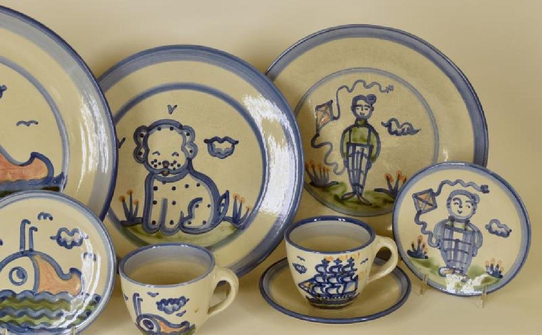 Collection Of Various Pattern M A Hadley Pottery - 2