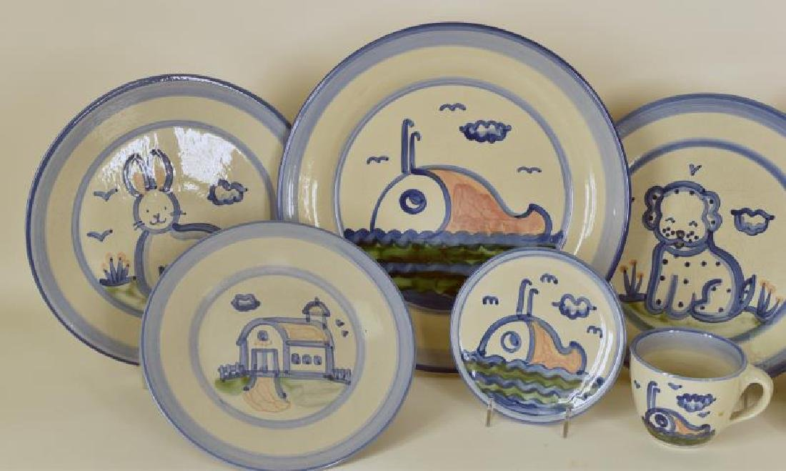 Collection Of Various Pattern M A Hadley Pottery - 3