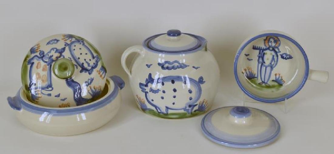 Collection Of M A Hadley Pottery